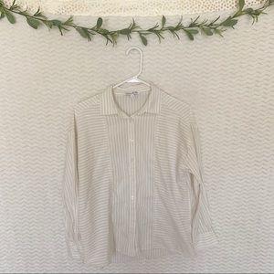 Elizabeth James   Button Down Shirt   M